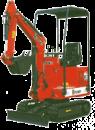 Grävmaskin Neuson 803, 935 kg