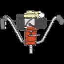 Jordborrmaskin, Stihl BT121