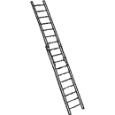 Stege, 2-delad 12,0 meter
