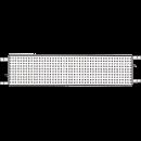 Aluminiumplank 3,5x0,3 meter