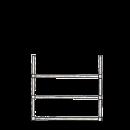 Stegram bred 3-pinnar