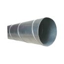 Byggtorkrör 160 mm, längd 3 meter